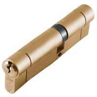 Asec BS Kitemarked Snap Resistant Euro Double Cylinder 45/65 110mm Brass