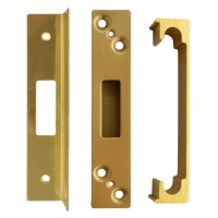Asec Sashlock Rebate Kit 25mm Polished Brass