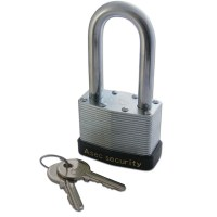 Asec AS 787 Laminated Padlock 50mm long Shackle