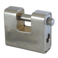 Asec AS 770 Straight Shackle Padlock Stainless Steel 60mm