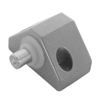 Asec Patio Door Push Lock Grey