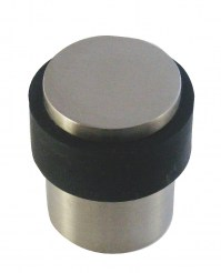 Asec Buffer Round Door Stop Stainless Steel