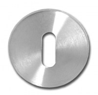 Asec Stainless Steel Escutcheon Mortice Key 10mm thick
