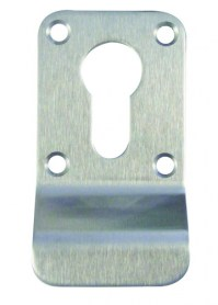 Asec Euro Cylinder Pull Satin Stainless Steel Screw on