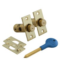 Asec Window Bolt Pair Electro Brass