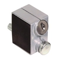 Asec Patio door Lock Silver
