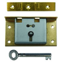 Asec 20 - 1 Lever Box Lock 60mm