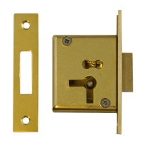 Asec 15 - 4 Lever Cupboard Lock  64mm Right Hand