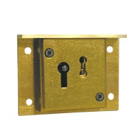 Asec 2 Lever Till Lock 50mm Brass