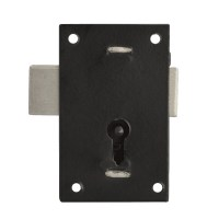 Asec 150 - 1 Lever Straight Cupboard Lock 57mm