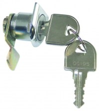 D Shaped Cam Lock for DAD Mail and Post Boxes