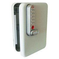 Asec Key Cabinet with Digital Electronic Lock 20 Hook