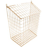 Harvey 62L Letter Cage Large Electro Brass