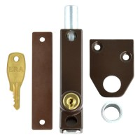 ERA 806-22 Universal Press Bolt Cut Key Brown