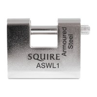 Squire ASWL1 5 Pin Straight Shackle Padlock 60mm