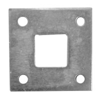Aperry 584 Square Bolt Plate Zinc Plated for Garage Bolts