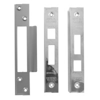 ERA 437-51 Rebate Set for ERA Sash Locks - 25mm Satin Chrome