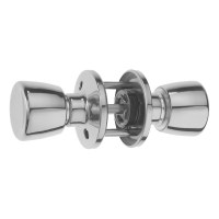 ERA 170-52 Passage Knob Set and Latch Satin Chrome
