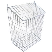 Harvey 62L Letter Cage Large Chrome