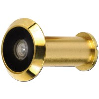 ERA 190-32 Door Viewer with Plastic Lens Brass