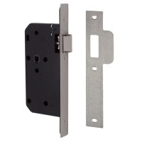 Union 2C23 Din Mortice Latch - 2C2 Series Architectural Square Forend