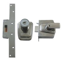 Ingersoll London Line SC100 BS3621:2007 Rim Nightlatch Chrome
