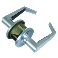 Weiser LA101 Dane Passage Lever Set Satin Chrome