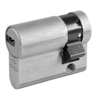 CISA Astral Euro 10pin Single Cylinder 40mm 30/10 Nickel Plated