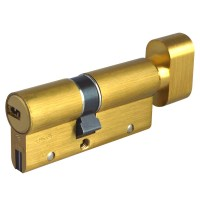CISA Astral S BS Anti Bump / Snap Key-Turn Euro Cylinders 70mm 30/40 Brass
