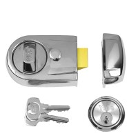 Yale Y3 Deadlocking Nightlatch 93mm Polished Chrome