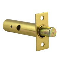 Yale PM444 Door Security Bolt 1 Bolt 1 Key Brass