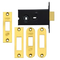 Legge 2512/5 Mortice Bathroom Deadbolt Brass 5mm Follower