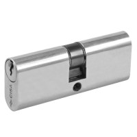 CISA 08210 Small 5 Pin Double Oval Cylinder Nickel Plated 70mm