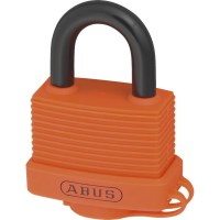 ABUS 70AL/45 Aluminium Padlock 53mm Orange Keyed Alike