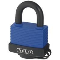 ABUS 70IB/50 Marine Grade Brass Padlock 59mm Blue Keyed Alike