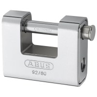 ABUS 92/80 Straight Shackle Steel Clad Padlock 78mm