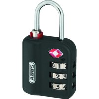 ABUS 147TSA Luggage Combination Padlock TSA approved Black