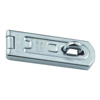 ABUS 100/60 Single Link Hasp and Staple Silver with screws 60mm