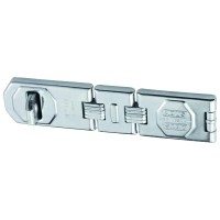 ABUS 110/195 Triple Link Hasp and Staple Silver with screws 195mm