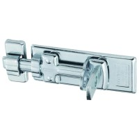 ABUS 300/100 Series Padlock Bolt 100mm Silver