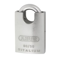 ABUS 90RK/50 Titalium Marine Closed Shackle Padlock 50mm