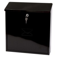 G2 Severn Post Box / Mail Box Black