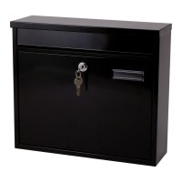 G2 Ouse Post Box / Mail Box Black