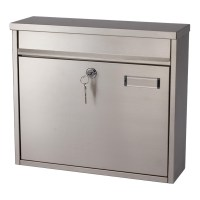 G2 Ouse Post Box / Mail Box Satin Stainless