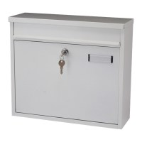 G2 Ouse Post Box / Mail Box White