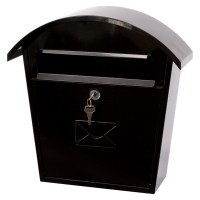 G2 Humber Post Box / Mail Box Black
