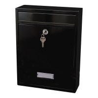 G2 Trent Post Box / Mail Box Black