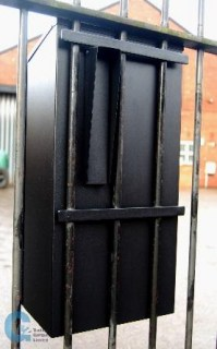 G2 Gate and Railing Secure Post Box