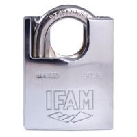 IFAM Inox Marine Padlock 50mm Closed Shackle