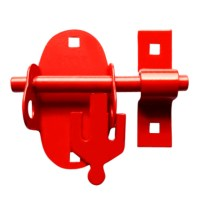 Morgan ACL200 Oval Padlock Bolt for Morgan ACL Padlocks - Red